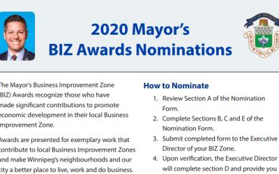 2020 Mayors BIZ Awards Nominations