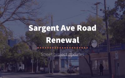 Sargent Ave Road Renewal