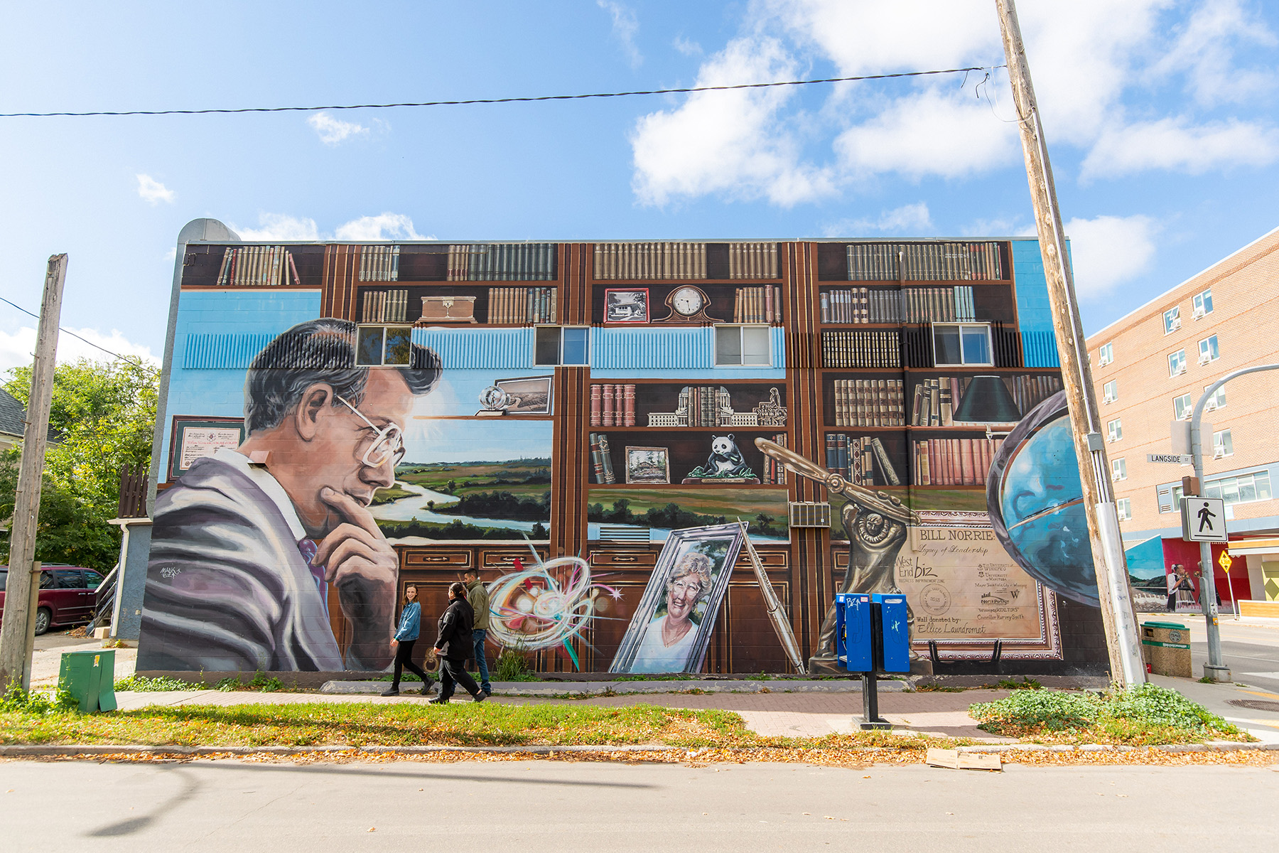 Bill Norrie- Mural