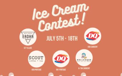 Ice Cream Contest!